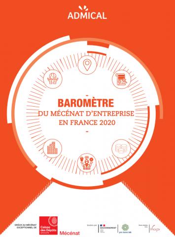 Baromètre du mécénat d'entreprise – Les chiffres clés 2020