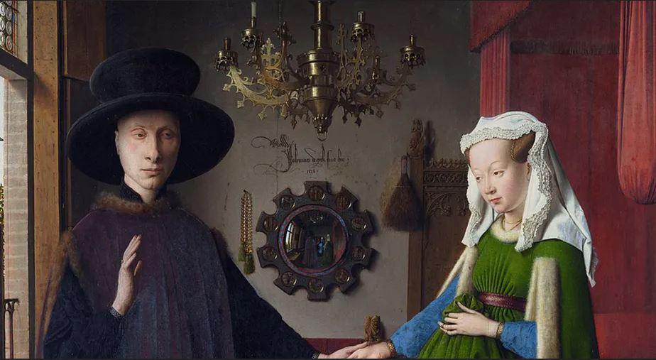 La véritable invention de Jan van Eyck : une machine à représenter l'espace tel que nous le percevons